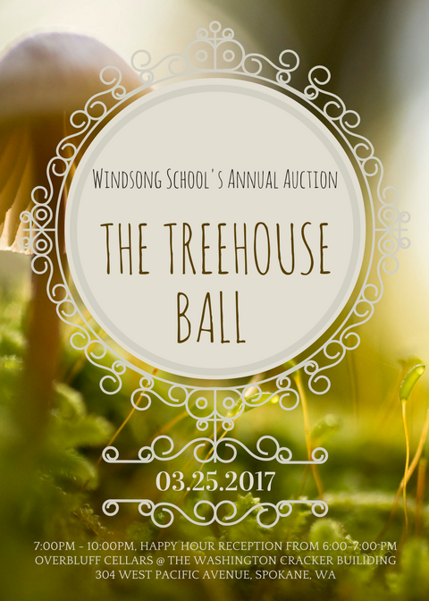 Treehouse Ball announcement